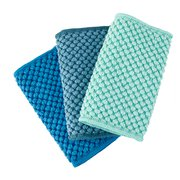 Counter Cloths Recycled Marine, Teal, Sea Mist, Set of 3